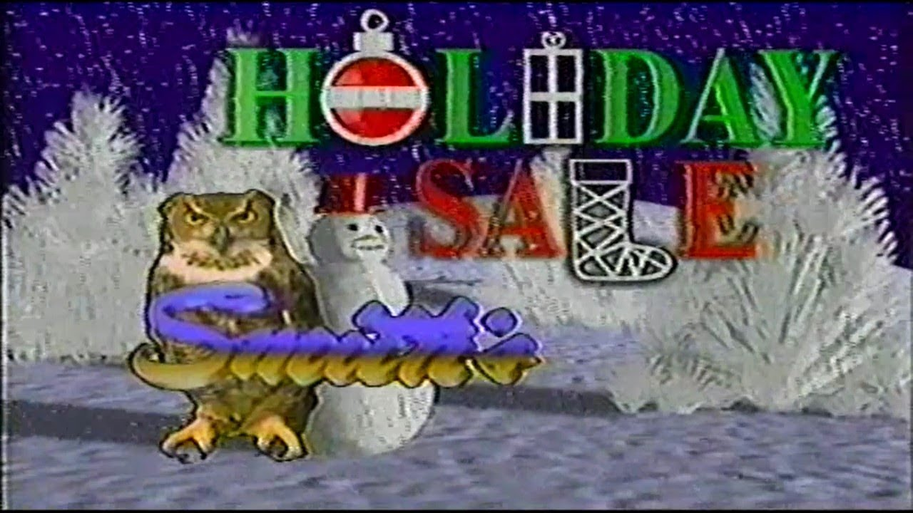 Louisville KY Local Christmas Commercial Compilation 80s/90s