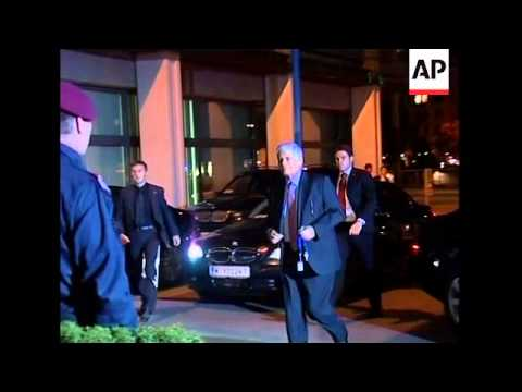 OPEC oil ministers meet for a summit; arrivals