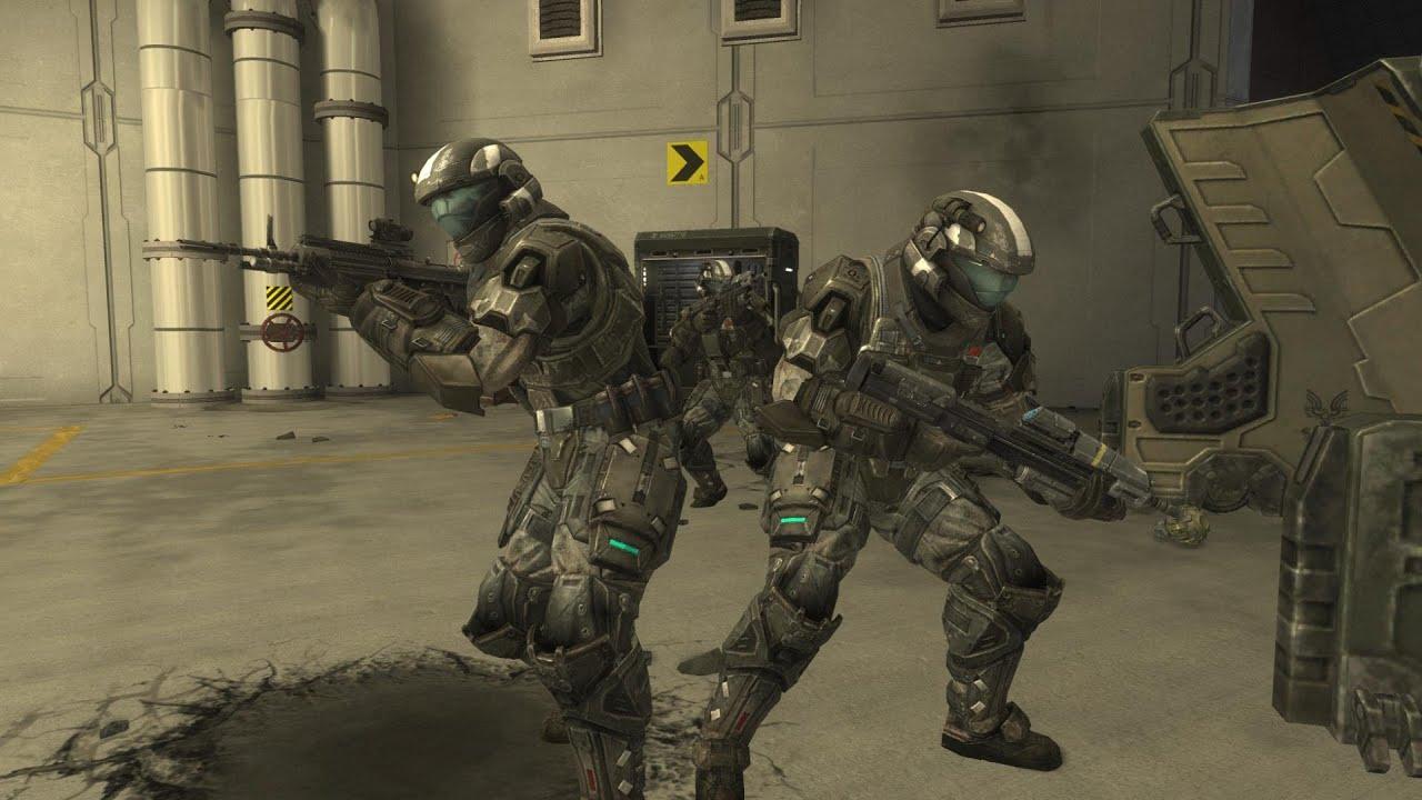 Halo Wallpaper Fall Of Reach Oni Installation Defense Men Of War Rts Halo Reach