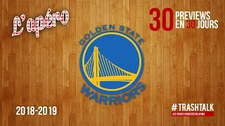 NBA Preview 2018-19 : les Golden State Warriors