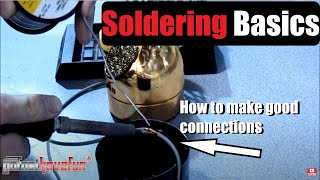 How to Solder / Soldering Basics Tutorial | AnthonyJ350