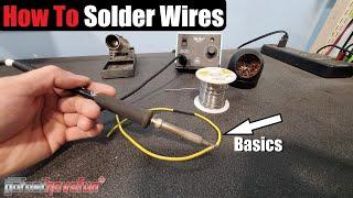Solder / Soldering Basics Tutorial