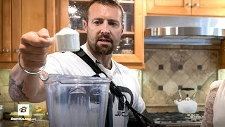 Almond Oat Booster Smoothie Recipe | Kris Gethin