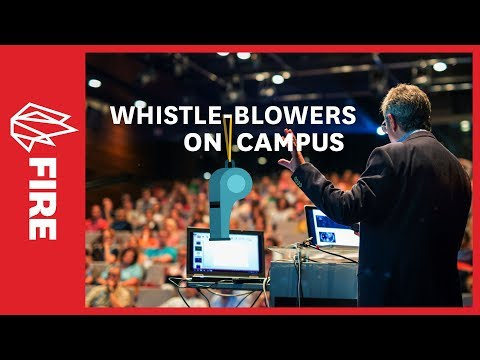 Whistleblowers on campus: The fight for free speech and academic freedom
