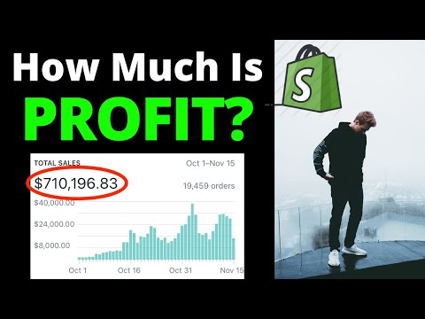 How Much PROFIT I Make From Dropshipping (REVEALED)