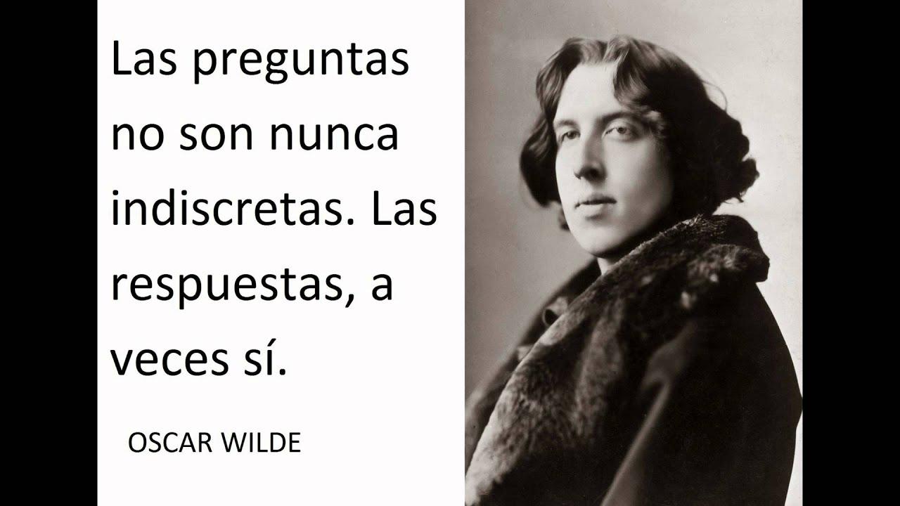 Frases Y Citas Célebres: Oscar Wilde Mejores Frases Y Citas Celebres, Famosas