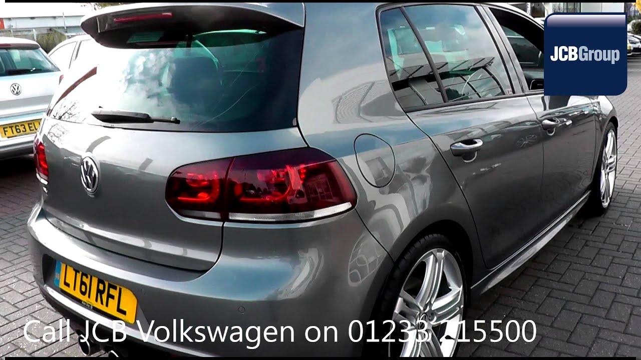 2011 volkswagen golf r 2l steel grey metallic lt61rfl for sale at jcb vw ashford youtube. Black Bedroom Furniture Sets. Home Design Ideas