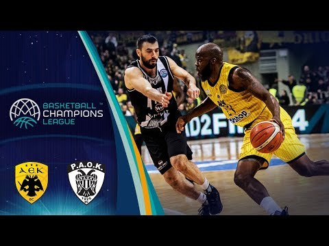 AEK v PAOK - Highlights - Round of 16 - Basketball Champions League 2018-19