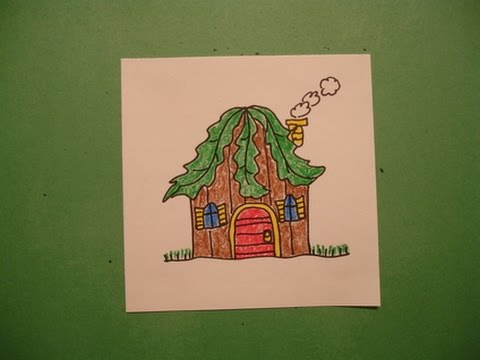 Let's Draw a Fairy House!