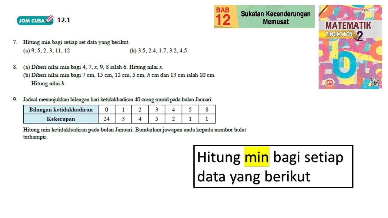 Jawapan Buku Teks Matematik Tingkatan 2