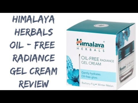 Himalaya Oil Free Radiance Gel Cream Review | Best face Moisturiser for oily skin