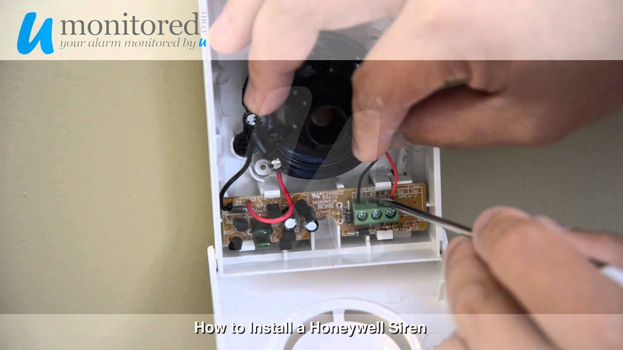 install a honeywell alarm system siren install a honeywell alarm system siren