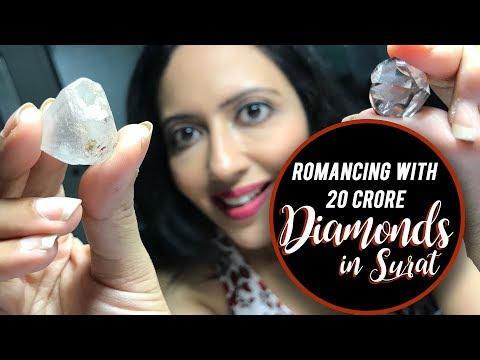 How Raw Diamond gets it's Sparkle | Diamond Factory Visit | Surat