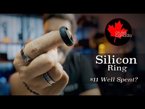 Silicone Wedding Ring For Him Or Her - Worth The $11
