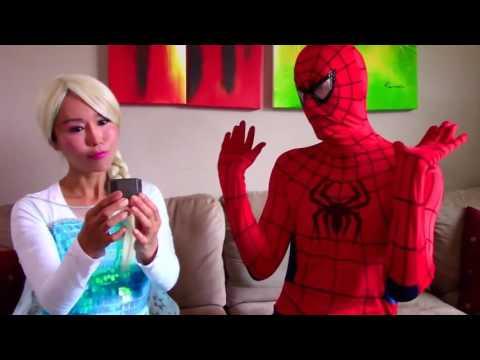 SPIDERBABY VS JELLYFISH ATTACK w/ Spiderman Prank Joker Superhero Prank Videos Stop Motion