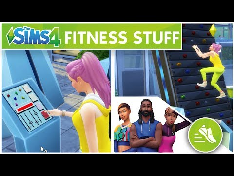 TUTTI IN PALESTRA! [ Fitness Stuff ] - The Sims 4 - #17