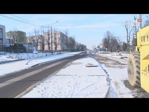 Mróz nie odpuszcza ulicy Gdańskiej - Tv Tetka Tczew HD