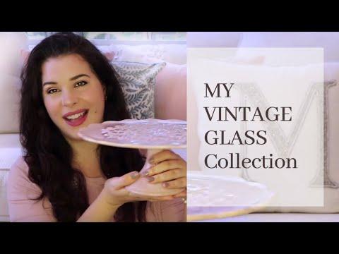 VINTAGE GLASS! Milk Glass, Carnival, & Depression Glass ♡MissJustinaMarie