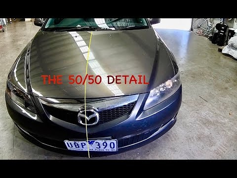 "The 50/50 Detail ""Project Mazda 6"""