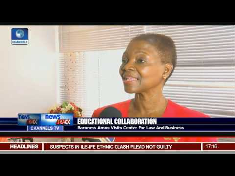 Baroness Amos Visits Center For Law And Business For Educational Collaboration
