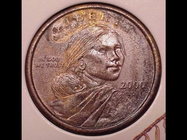 2006 P Native American Sacagawea Dollars US Mint Coin Set Money Collectable