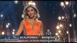 Miss USA 2016 - Evening Gown Competition [HD]