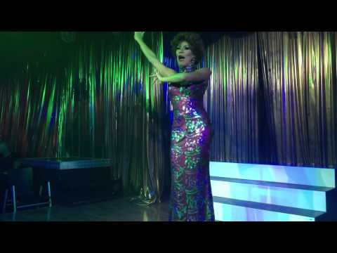 Armani as Shirley Bassey at funny boys
