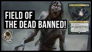 FIELD OF THE DEAD BANNED! | B&R Announcement, Oct 21, 2019 | Throne of Eldraine MTG Standard