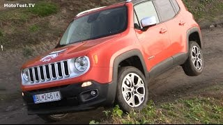 2015 Jeep Renegade  - off-road test