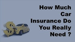 Auto Insurance Coverage | How Much Car Insurance Do You Really Need