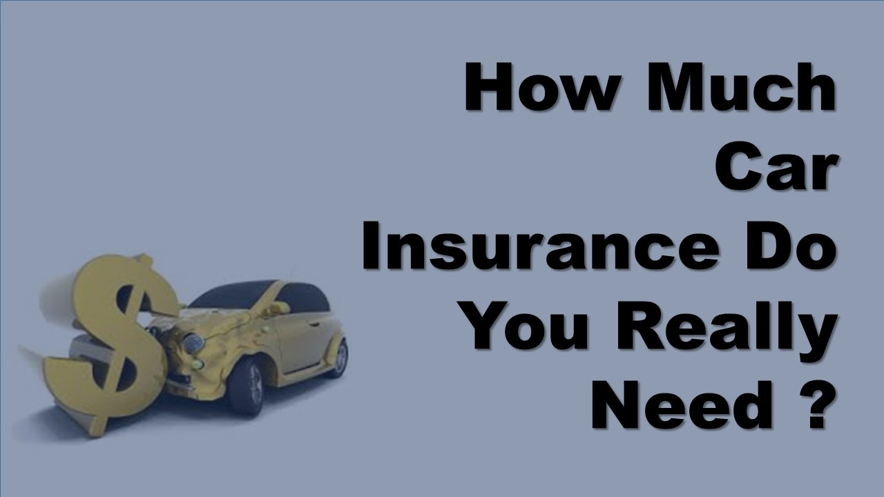 Do You Really Need Car Insurance