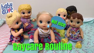 Baby Alive Daycare Routine