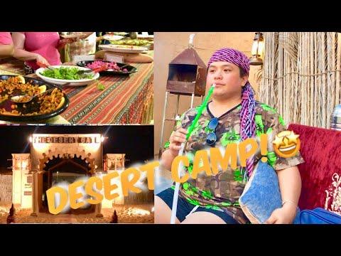 Dubai Desert Safari Camp| Shisha & Food| 2019🇦🇪😍