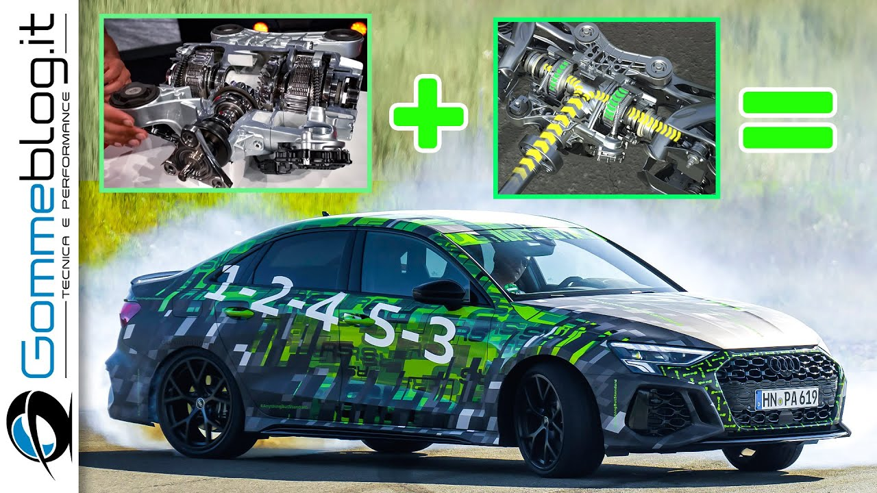 2022 Audi RS3 - How does the RS TORQUE SPLITTER work?