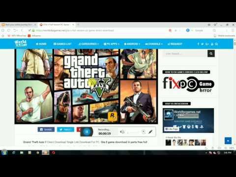 GTA 5 GAME FREE DOWNLOAD FOR PC COMPRESSED FILE [GTA ROCKSTAR GAME]