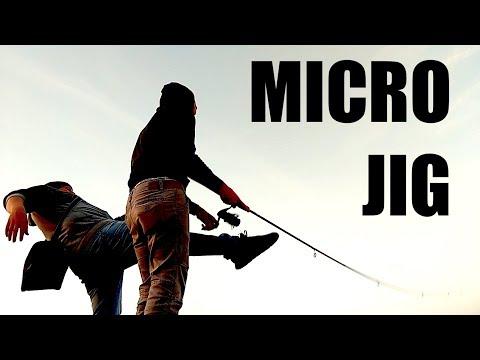 Micro Sgombri con Micro Jig e Sabiki e anche un PESCE PROTETTO!