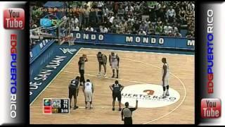 2009-PR vs Argentina (Pre Mund)[Carlos Arroyo]