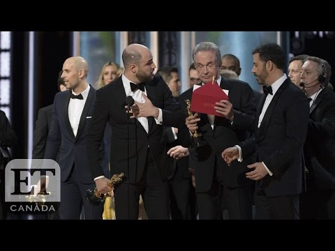 Thumbnail: Stars React To 2017 Oscars 'Moonlight' and 'La La Land' Best Picture Mix-Up