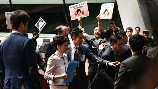 VOA连线(汤惠芸):林郑月娥施政报告评分创新低 泛民建制两边不讨好
