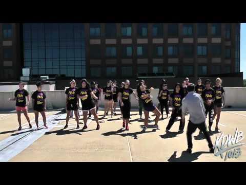 Misha Gabriel Teaches the KDWB Interns a New Dance
