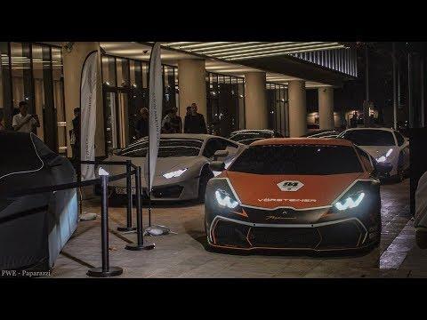 Phát choáng với dàn Siêu Xe độ 200 tỷ đi khai trương hãng xe Aston Martin