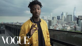Getting Ready With 21 Savage | Vogue