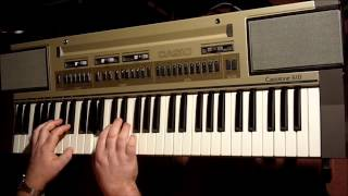 "MADNESS. SOLO ""HOUSE OF FUN"" COVER. VINTAGE CASIO CT610 KEYBOARD.MIKE BARSON"