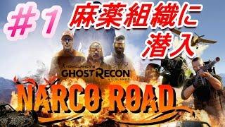 DLC「ナルコ・ロード」『Ghost Recon Wildlands』 ゴーストリコン ワイルドランズ