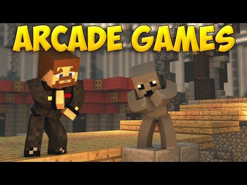 РАНДОМНЫЕ МИНИ ИГРЫ - Minecraft Arcade Games
