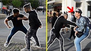 MMA-Kämpfer gegen PASSANTEN!!! VERLIERER kriegt SCHLÄGE!!!