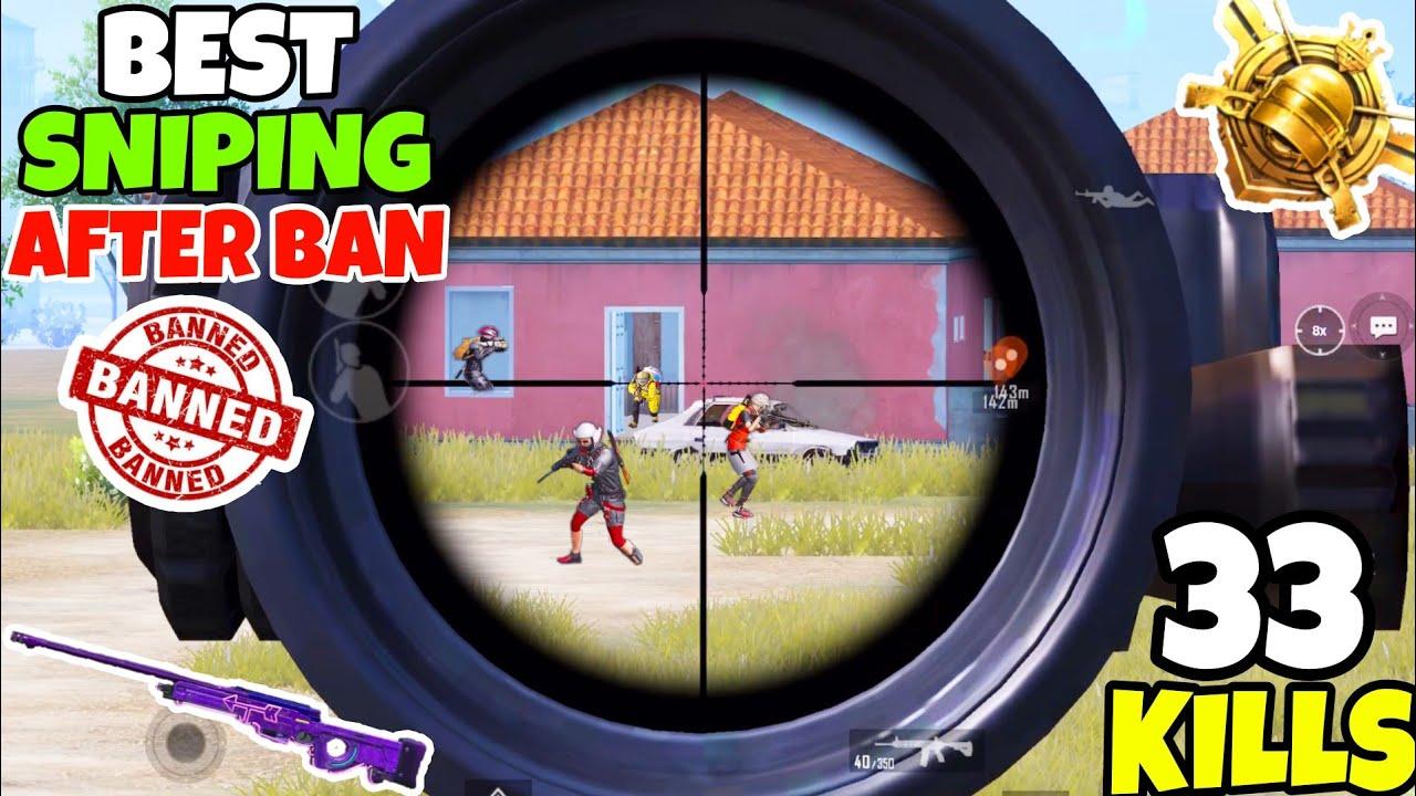 Best Sniping Gameplay After PUBG Ban? • (33 KILLS) • PUBG MOBILE (HINDI)