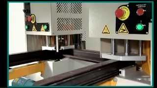 Yilmaz DK 502 - двухголовочный сварочный станок.(Yilmaz DK 502 - двухголовочный сварочный станок. - Предназначен для сварки профилей при изготовлении оконных..., 2014-04-24T10:34:09.000Z)