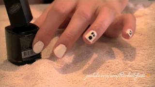 "Halloween Nail Art Tutorial: ""Ghoulish Ghosts"""