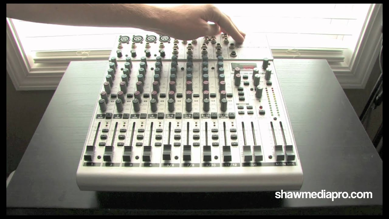 Behringer Mx3242x Eurorack Mixer Pdf